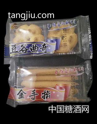 亿家柒-豆谷曲奇饼干