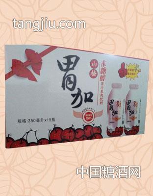 胃加山楂汁木糖醇果汁果肉饮料箱装(350ml 15瓶)