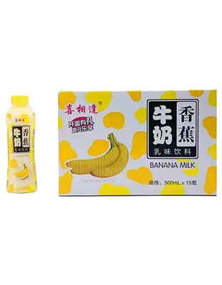 喜相逢牛奶香蕉500mlX15瓶