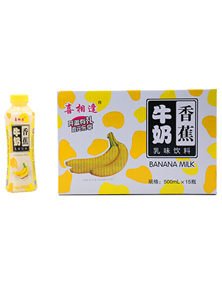 喜相逢香蕉牛奶500mlX15瓶