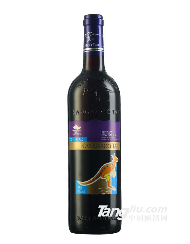 澳大利亚原瓶进口袋鼠干红葡萄酒 西拉子