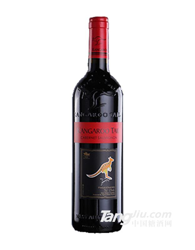 澳大利亚原瓶进口长尾袋鼠干红葡萄酒09