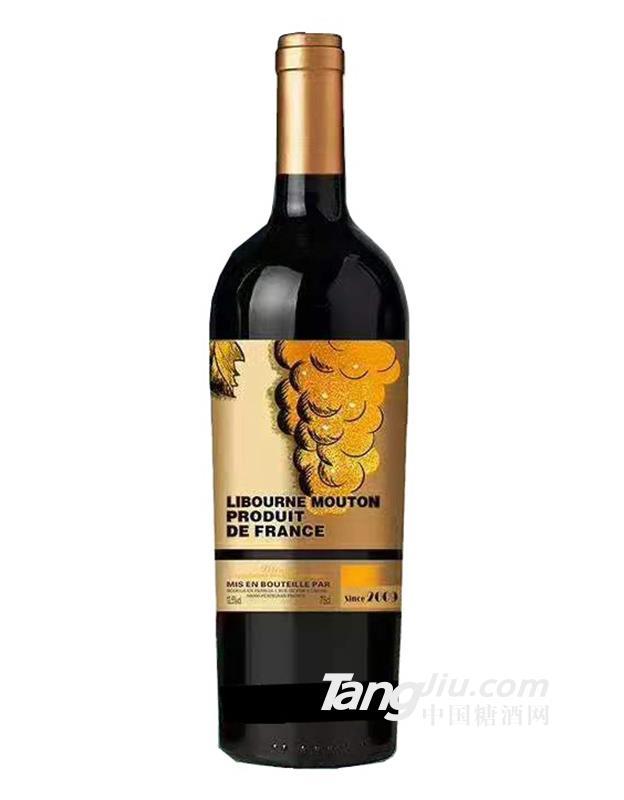 木桐男爵酒庄干红葡萄酒09
