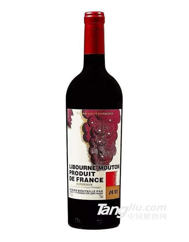 木桐男爵酒庄干红葡萄酒750ml2011