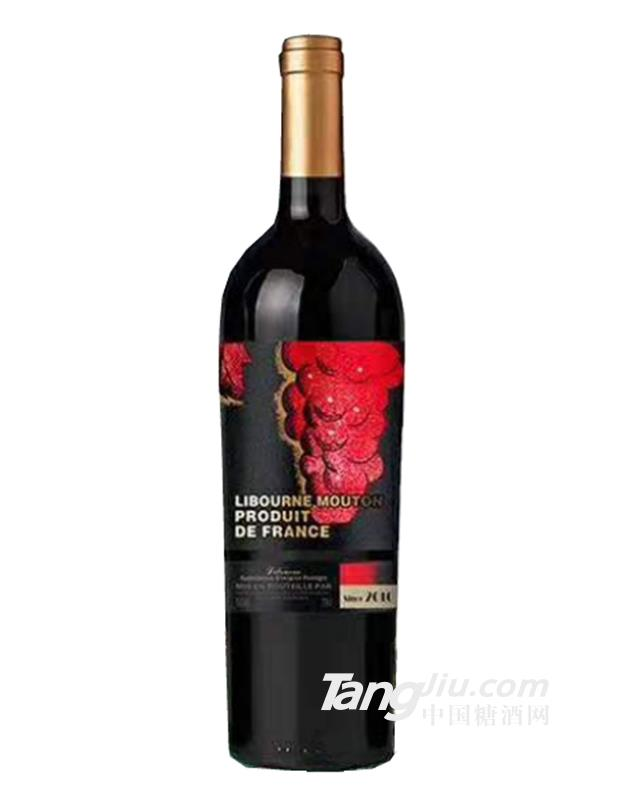 木桐男爵酒庄干红葡萄酒10