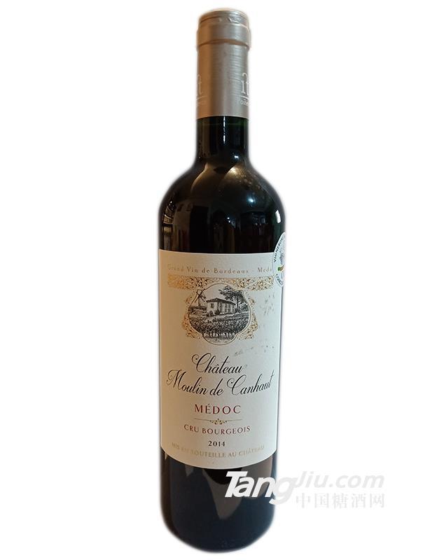 卡容磨坊城堡干红葡萄酒