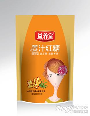 益养堂红糖300g-姜汁红糖
