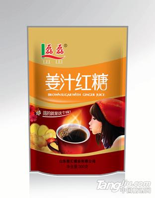 磊磊姜汁红糖300g-雅汇糖业