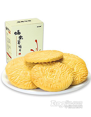 炎帝牧源-蛹虫草酥性曲奇饼干