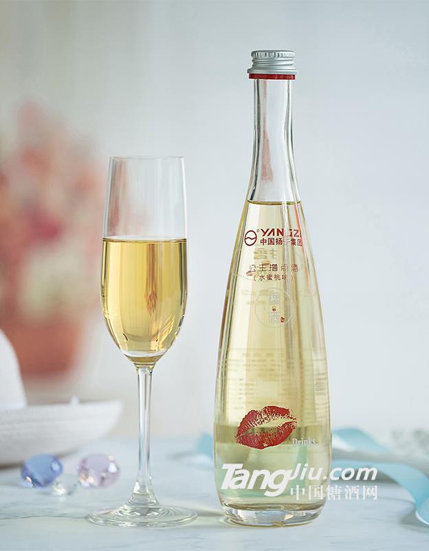 扬子撸点酒 尊享水蜜桃味酒-500ml