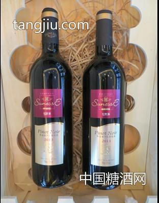 轩斯堡光瓶葡萄酒2013(紫)