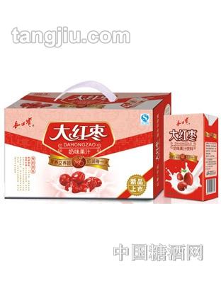 源汇大红枣奶味果汁