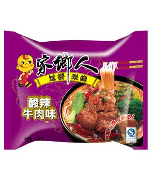 单包米线(酸辣牛肉味)