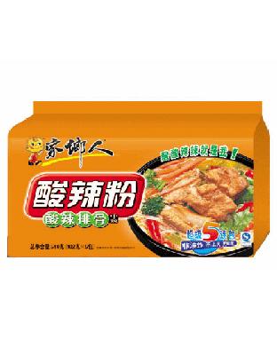 酸辣粉五入(酸辣排骨味)