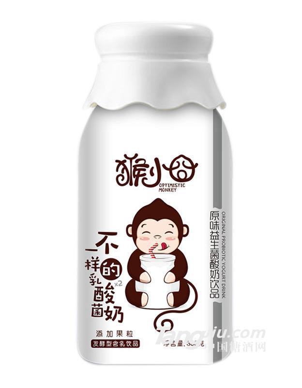 猴小囧添加果粒乳酸菌(原味)-380ml