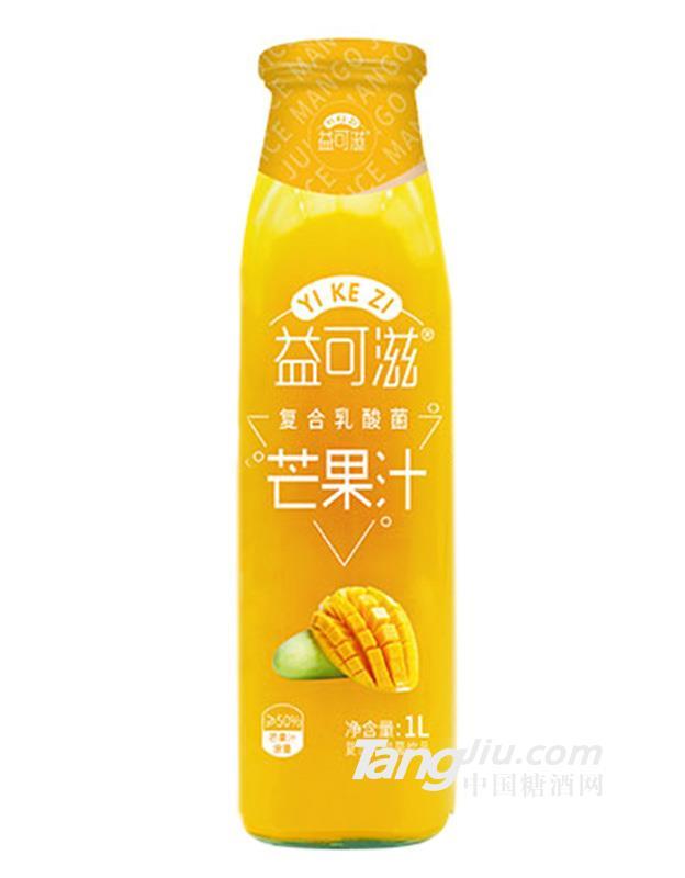 益可滋复合乳酸菌芒果汁-1L