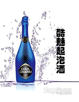 酷魅起泡酒750ml蓝瓶