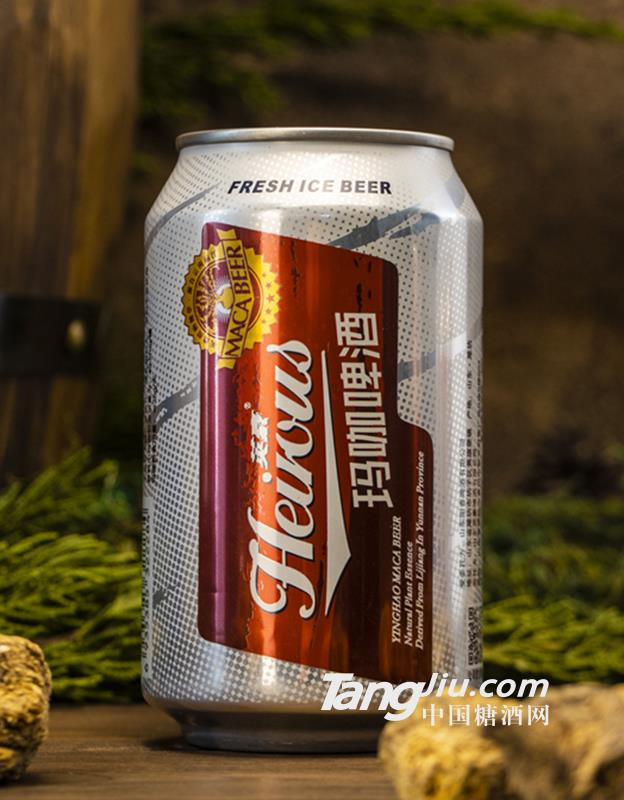 英豪玛咖啤酒330ml×24罐