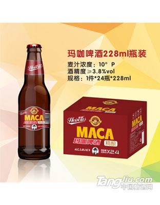 玛咖啤酒 228ml瓶装