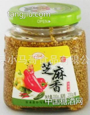 芝麻香辣椒酱200g-小马哥食品
