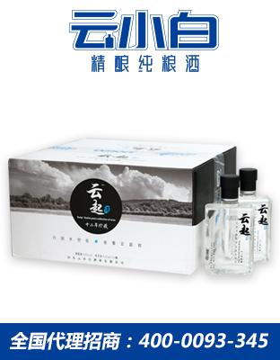 云小白云起系列125ml×24箱装精酿纯粮酒