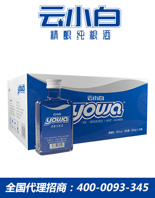 云小白yowa系列100ml×24箱装精酿纯粮酒