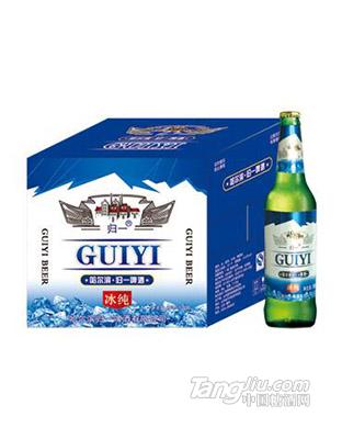 哈尔滨归一冰纯绿瓶500mlx12瓶