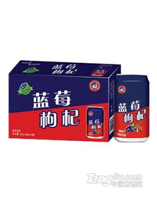 蓝莓枸杞320mlx24罐