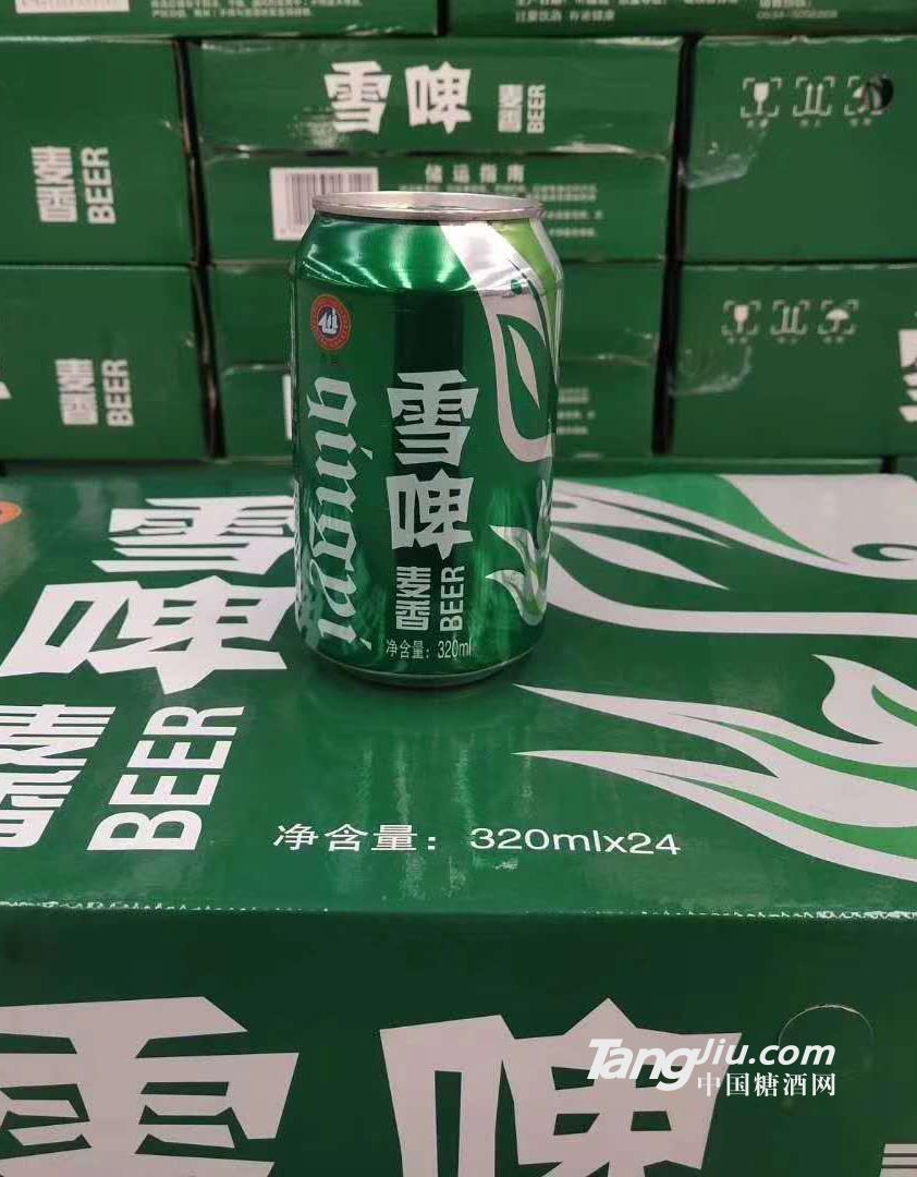 麦香雪啤320mlx24罐