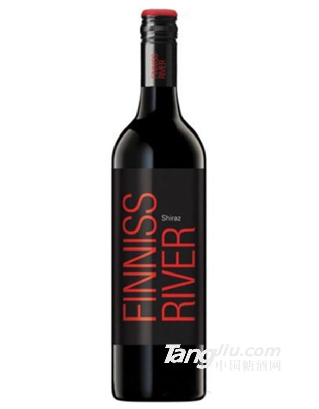 芬尼斯河西拉红葡萄酒