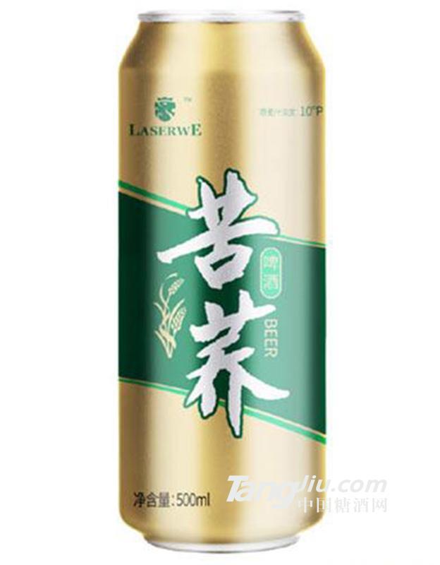 澜圣威苦荞啤酒500ml