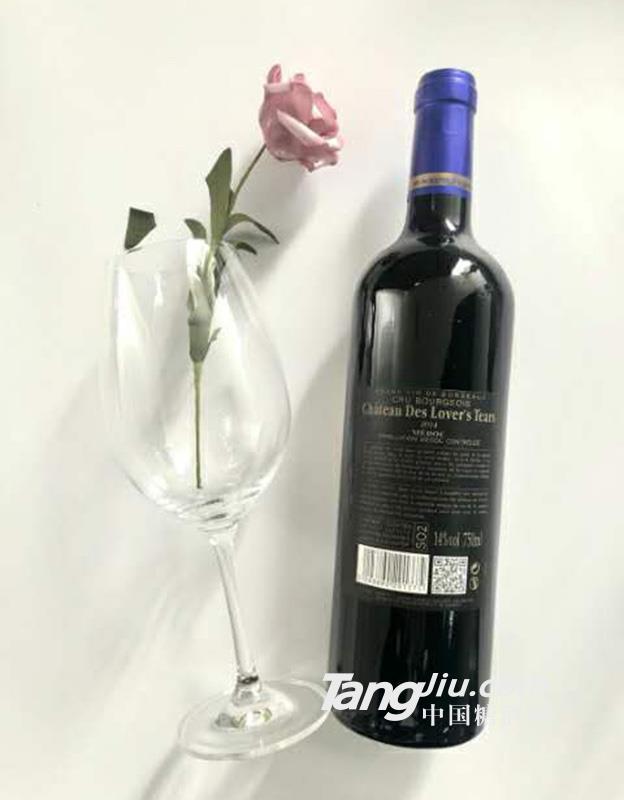 法国原瓶进口中级庄园红酒