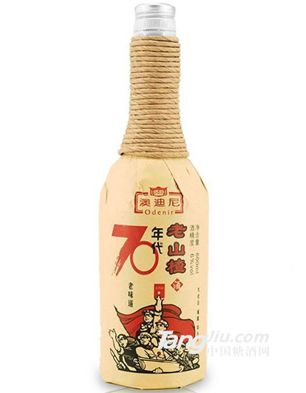 东北特产老味道山楂酒600ml