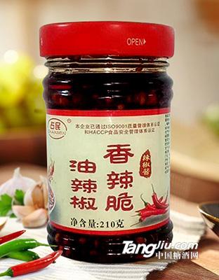 香辣脆油辣椒210g