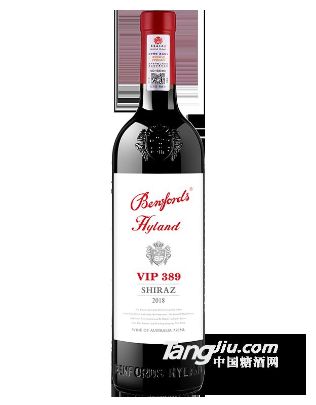奔富海兰贵宾VIP389干红葡萄酒