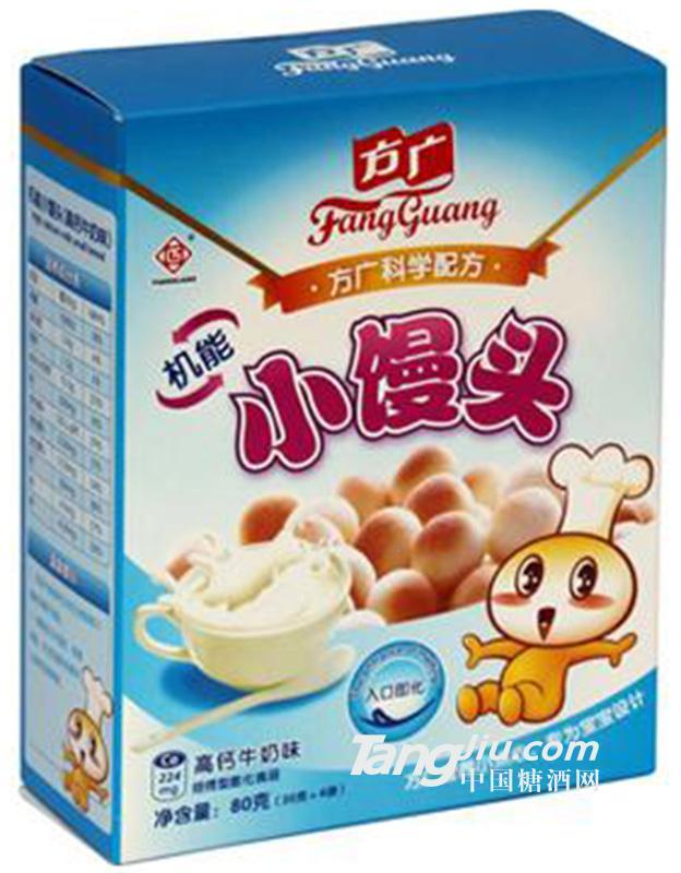方广机能小馒头牛奶味
