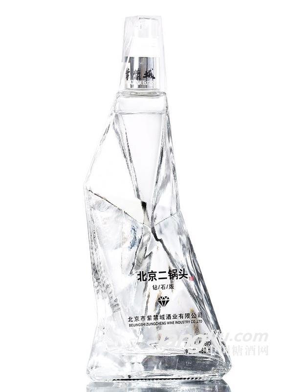北京二锅头-钻石版水晶瓶