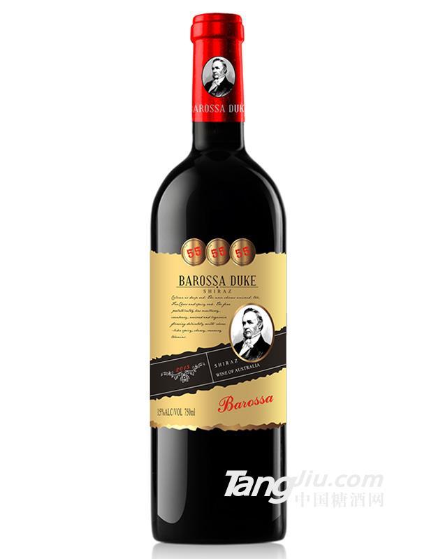 巴罗莎公爵55西拉干红葡萄酒