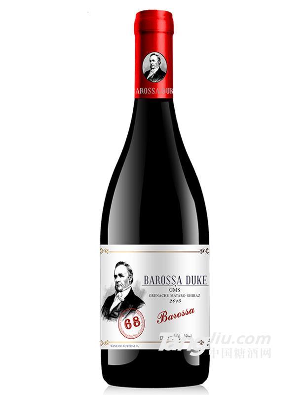 巴罗莎公爵68干红葡萄酒