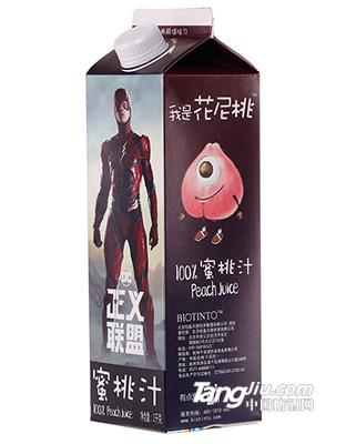 王小芒99%蜜桃汁(正义联盟)-1000g