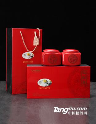四川高山红茶 200g瓷罐礼盒装茶叶