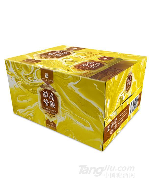 醇岛精酿黄啤1L×12罐