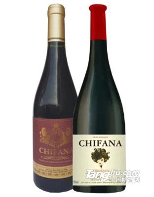 法国赛凡拉干红葡萄酒750ml