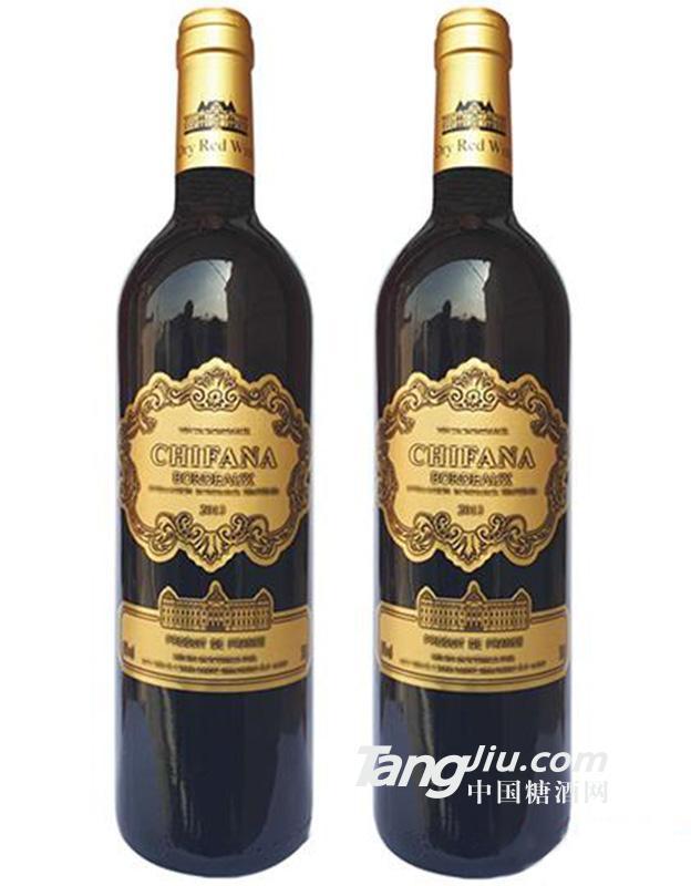 法国赛凡拉干红葡萄酒2013-750ml