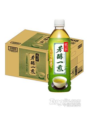 达亦多(Dydo)芳醇一煎绿茶饮料 500ml_24瓶
