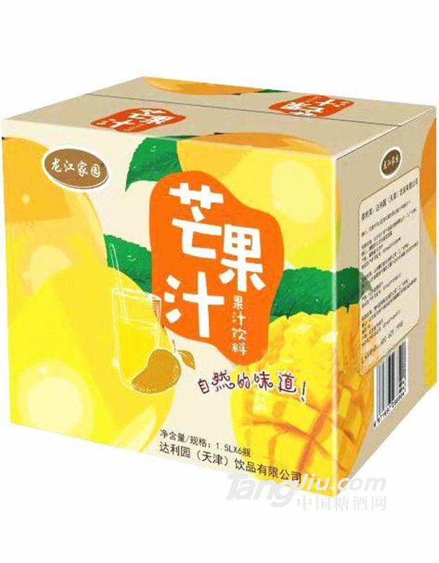 龙江家园芒果汁饮料1.5L