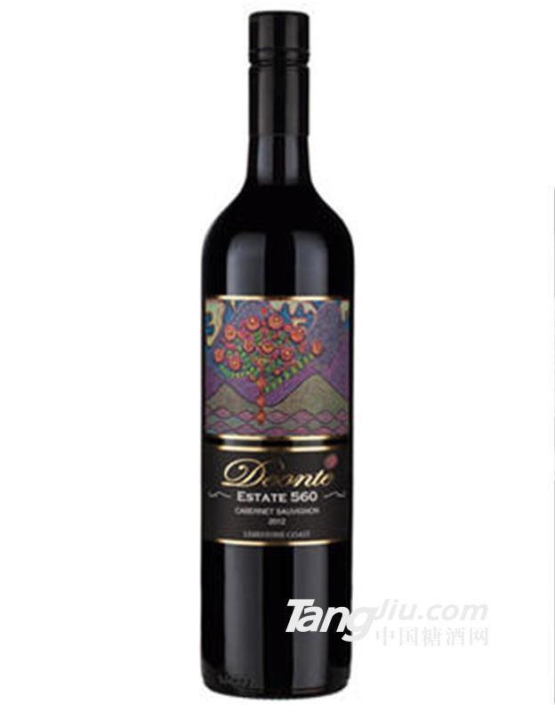 丹歌庄园560石灰岩海岸赤霞珠干红葡萄酒