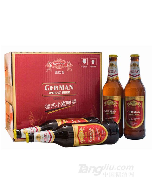 德伦堡精酿原浆小麦啤酒-500ml
