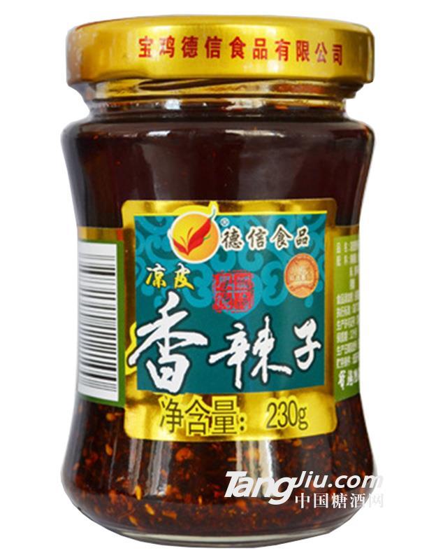 德信食品凉皮香辣子230g