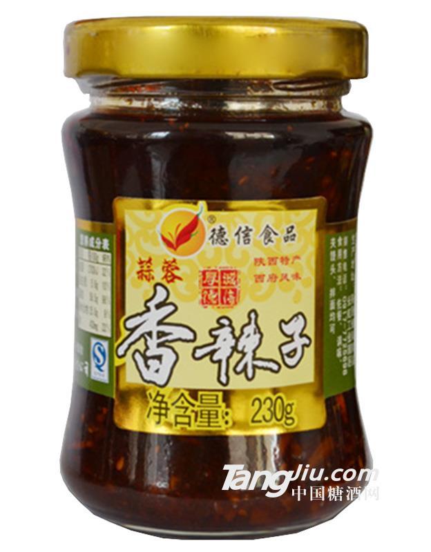 德信食品蒜蓉香辣子230g